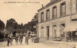 DPT 23 LE DONZEIL Entrée Du Bourg - Autres Communes