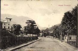Cp Sinaia Rumänien, Strada Primariei, Straßenpartie Im Ort - Romania