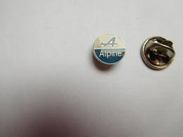 Beau Pin's , Auto Renault Alpine , Petit Logo - Renault