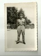 """4199 """" MILITARE A SPOLETO IL 7/6/1959 """" FOTO ORIGINALE - Guerra, Militari"""