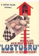 Publicité LUSTUCRU - Pâtes Aux Oeufs Frais - Affiche De R. De Valerio - A. Cartier-Millon, Grenoble - Pubblicitari