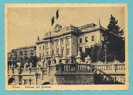 FIUME PALAZZO DEL GOVERNO 1942 - Croazia