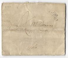 DA MOBARUZZO A SALUZZO - 15.12.1803. - Italia