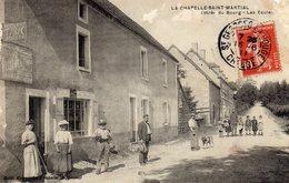 DPT 23 LA CHAPELLE-SAINT-MARTIAL Entrée Du Bourg - Autres Communes
