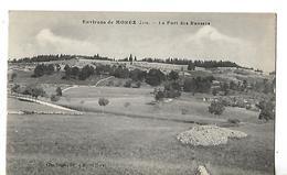 CPA 1916 / 39 MOREZ / Le Fort Des Rousses / Militaria Méroux Infirmier Bataillon Des Chasseurs Au Médecin Murié LONS - War 1914-18