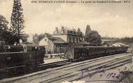 DPT 23 BUSSEAU-d'AHUN La Gare De Busseau-S-Creuse - Other Municipalities