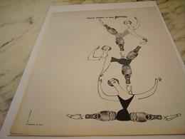 ANCIENNE PUBLICITE ELEGANCE PERRIER   1963 - Perrier