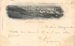 CARTE PRECURSEUR SAINT GERMAIN EN LAYE VUE PRISE DE LA TERRASSE DATEE 1899 TIMBRE TYPE SAGE - St. Germain En Laye