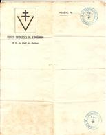FEUILLE VIERGE . FFI 1ERE DIV ALPINE . MEGEVE - Documentos Históricos