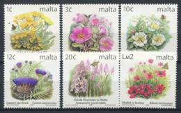 Malta 2000 Mi. 1138-1143 MNH 100% Flowers - Malta