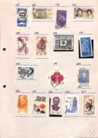 [701532]B/TB//O/Used-Brésil 1967 - N° 1, Petit Lot Sur Feuille, Campagne Aérienne, Lions International, Journée Des Mère - Brésil