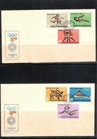 Romania 1972 Olympic Games Muenchen FDC - Sommer 1972: München