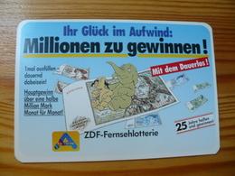 Pocket Calendar, Germany - Lottery, Lotto, Elephant - Calendari