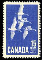 Canada (Scott No. 415 - Bernaches / Camada Geese) [**] - 1952-.... Règne D'Elizabeth II