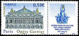 France Architecture Monument N° 3926 ** Opéra Garnier à Paris - Monumenten
