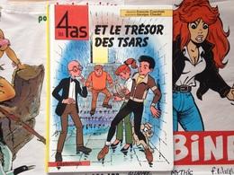 BD Les 4 As Et Le Trésor Des Tsars - Craenhals - Chaulet (1992) - 4 As, Les