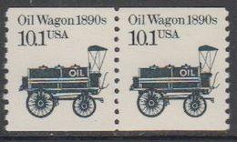 USA 1985 Oil Wagon 1890s 1v (pair) ** Mnh (43109E) - Verenigde Staten