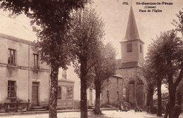 DPT 23 ST-GEORGES-LA-POUGE Place De L'Eglise - Other Municipalities