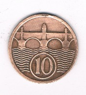 10 HALLER  1930  TSJECHOSLOWAKIJE /4675/ - Tchécoslovaquie
