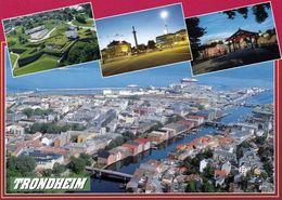 1 AK Norwegen * Ansichten Von Trondheim - U.a. Eine Luftbildaufnahme Und Die Festung Kristiansten * - Norwegen