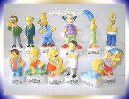 Simpsons De 2008 ..Serie Complète De 12 Fèves ..Ref AFF : 35-2009... (pan 0018) - Animals
