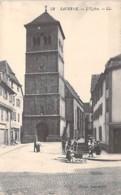 67 - SAVERNE : L'Eglise (petite Animation ) - CPA - Bas Rhin - Saverne