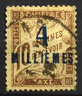 France (ex-colonies & Protectorats) > Port-Saïd (1899-1931) > 1921 N° 6 Timbre Taxe Oblitéré - Port Said (1899-1931)