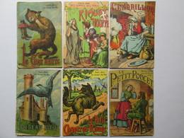 6 Livret  (petite Série   Des Contes De Fées ) - Autre Magazines