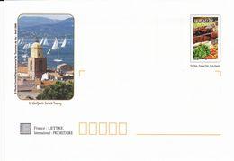 ENVELOPPES , Lots De 5 Enveloppes Prioritaires , Le Golfe De Saint-Tropez - Autres