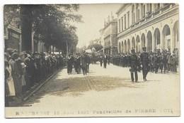 17-ROCHEFORT-SUR-MER-CARTE PHOTO-16.06.1923-Funérailles De Pierre LOTI...  Animé - Rochefort