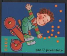 Svizzera 2003 Pro Juventute Libretto / Booklet **/MNH VF - Svizzera
