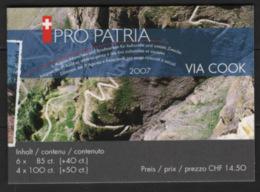 Svizzera 2007 Pro Patria Libretto / Booklet **/MNH VF - Svizzera