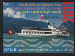Svizzera 2011 Pro Patria Libretto / Booklet **/MNH VF - Svizzera