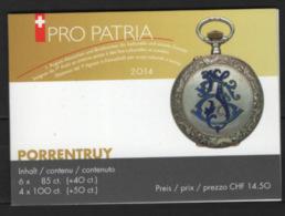 Svizzera 2014 Pro Patria Libretto / Booklet **/MNH VF - Svizzera