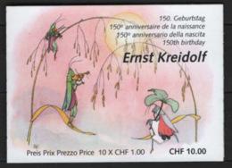 Svizzera 2013 Unif.L2215 Libretto / Booklet **/MNH VF - Svizzera