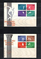 Poland / Polen 1960 Olympic Games Rome FDC - Sommer 1960: Rom