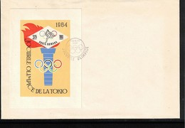 Romania 1964 Olympic Games Tokyo Michel Block 58 FDC - Sommer 1964: Tokio