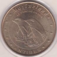 06. Alpes-Maritimes. Antibes. Marineland. Dauphins 2003. Monnaie De Paris - Monnaie De Paris