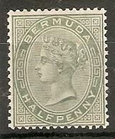 BERMUDA 1892 ½d DULL GREEN SG 21 MOUNTED MINT Cat £9 - Bermuda