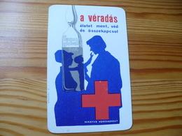 Pocket Calendar, Hungary - Red Cross - Calendarios