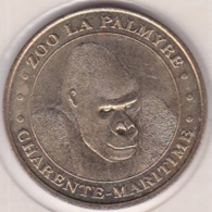 17. Charente Maritime.  Zoo La Palmyre Gorille 2005. Monnaie De Paris - Monnaie De Paris