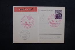 AUTRICHE - Entier Postal Par Ballon En 1950, Voir Cachets - L 31901 - Ganzsachen