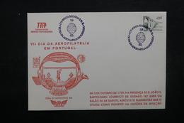 PORTUGAL - Enveloppe Par Ballon En 1989, Voir Cachets - L 31902 - 1910-... République