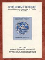 Vignettenblock, Erinnophilie In Fritzlar (74935) - Vignetten (Erinnophilie)