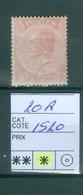 20 A X Côte 1520.00€ - 1865-1866 Profile Left