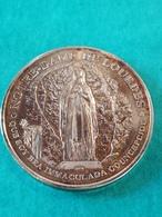 Souvenir Médaille De Lourdes Chemin Du Jubilé 1858 2008 - Other