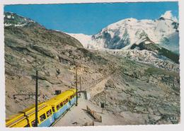 74 - SAINT GERVAIS LES BAINS - Le TMB Au Nid D'aigle, L'Aiguille Et Le Glacier Du Bionnassay - 1963 - Saint-Gervais-les-Bains