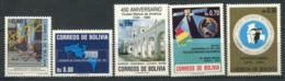 Bolivia 1990 MNH 100% Organizations - Bolivia