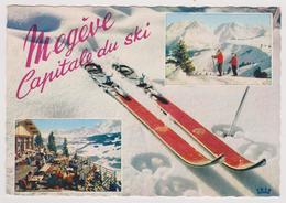 74 - Megève Capitale Du Ski - Multivues: Terrasse Du Jaillet, .... - Ed. CAP N° 1797 - 1963 - Megève