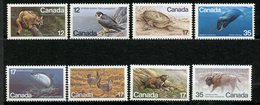 Canada, Yvert 654,699&700,732&733,762&763, Scott 752,813&814,853&854,883&884, MNH - 1952-.... Règne D'Elizabeth II